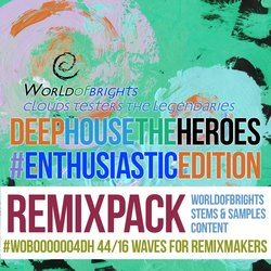 Deep House The Heroes Vol. V: Enthusiastic Edition (Remix Bundle)