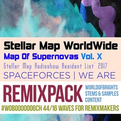 Map Of Supernovas Vol. X: SPACEFORCES (Remix Bundle)