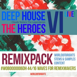 Deep House The Heroes Vol. VI: Live! (Remix Bundle)